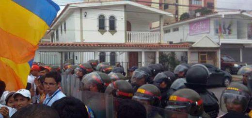 Comunicadores por la Innovación en Lara repudió la agresión de la GNB | Foto: Vía Twitter