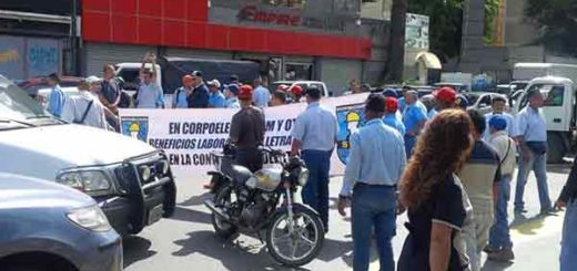 Trabajadores de Corpoelec | Foto: @solanojuanc