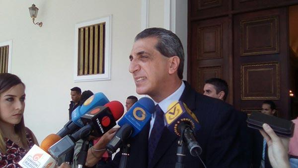 Biagio Pilieri, Diputado de la Asamblea Nacional / Foto: Twitter
