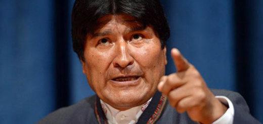 Presidente de Bolivia, Evo Morales | Foto referencia