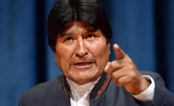 Presidente de Bolivia, Evo Morales | Foto referencial