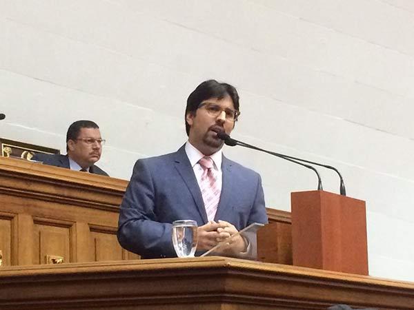 Freddy Guevara en la Asamblea Nacional |Foto Twitter