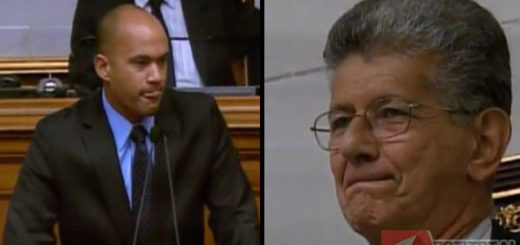 Héctor Rodríguez y Ramos Allup
