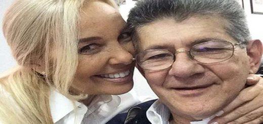Diana D'Agostino y Henry Ramos Allup|Foto: El Nacional