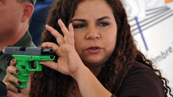 Ministra del Poder Popular para Asuntos Penitenciarios, María Iris Varela | Foto: Archivo