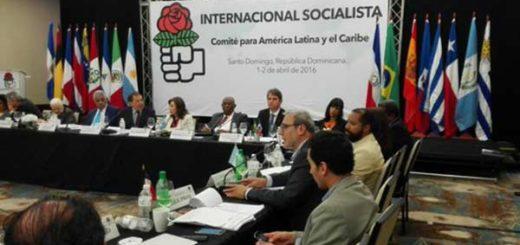 Internacional Socialista manifiesta su apoyo al Referendo Revocatorio