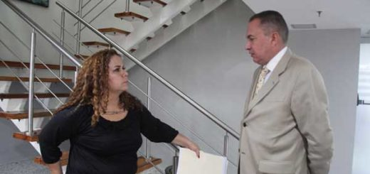Iris Varela, minisitra para Asuntos Penitenciarios y diputado Richard Blanco/Foto: AN