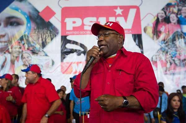 Vicepresidente de la República, Aritóbulo Istúriz | Foto: @ViceVenezuela