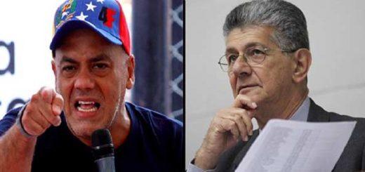 Jorge Rodríguez critica e insulta a Ramos Allup |Fotomontaje