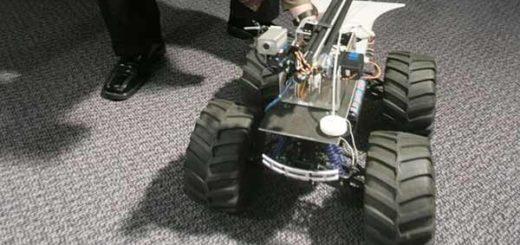 El MARCbot fue diseñado para las operaciones militares de EE.UU. en Irak y Afganistán por la firma Exponent|BBC Mundo