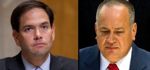 Redoblan seguridad para Marco Rubio por presunta amenaza de Diosdado Cabello |Composición: Notitotal