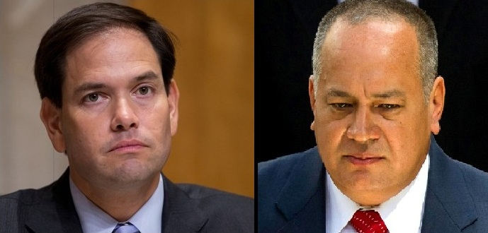 Marco Rubio afirma que Diosdado Cabello está muy nervioso