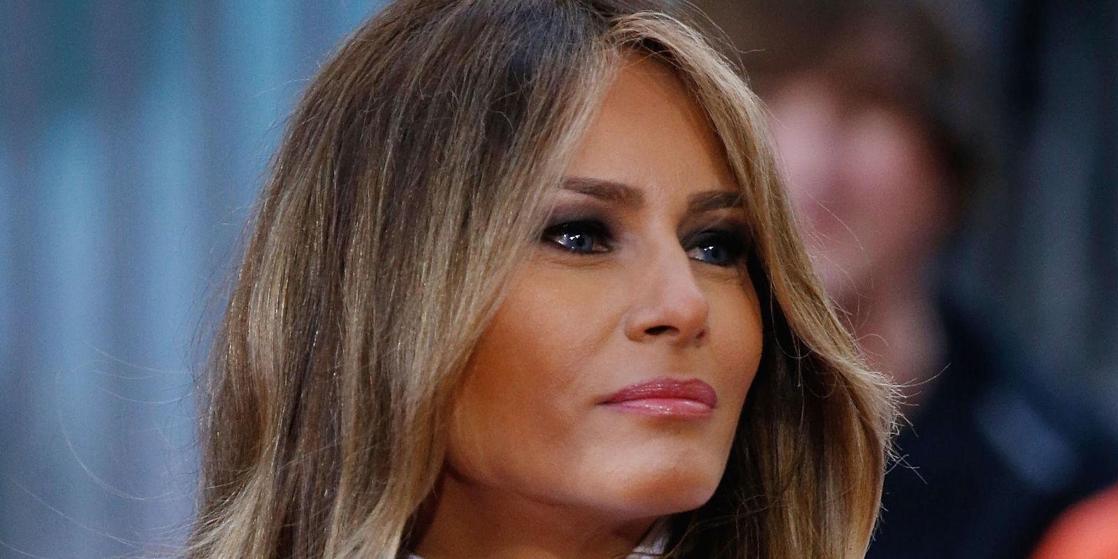 Melania  K-Nauss Trump, vuelve a estar envuelta en escándalos |Foto referencial