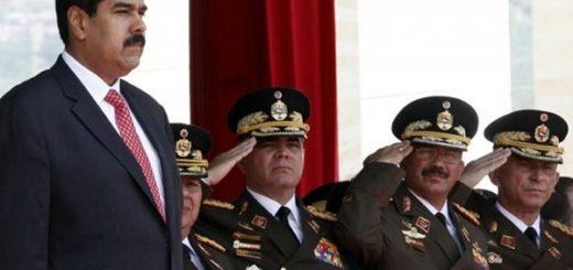 Nicolás Maduro durante acto de ascenso