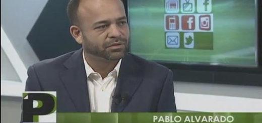 Pablo Alvarado, presidente al Consejo Legislativo de Guárico | Imagen: Captura de video - Globovisión