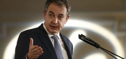 Ex presidente José Luis Rodríguez Zapatero | Foto referencial