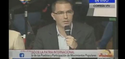 Jorge Arreaza, Vicepresidente del Área Social / Foto: captura de vídeo