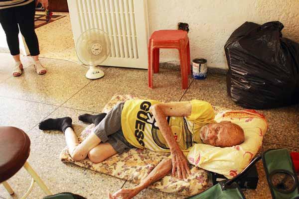 Roberto Ramírez Machado, de 95 años | Foto: Mónica Guevara /Panorama