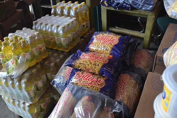 Productos acaparados decomidos por laSundde   foto: @sundde_ve