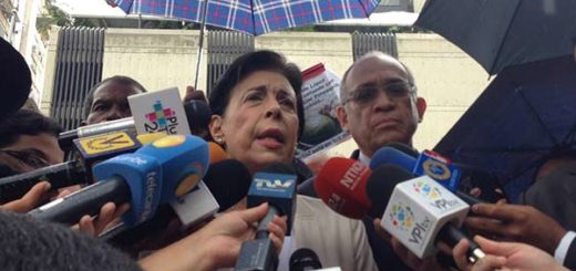 Antonieta Mendoza, madre de Leopoldo López   Foto: @VoluntadPopular
