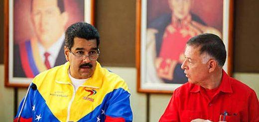 Nicolás Maduro y Árias Cárdenas | Foto: El Universal