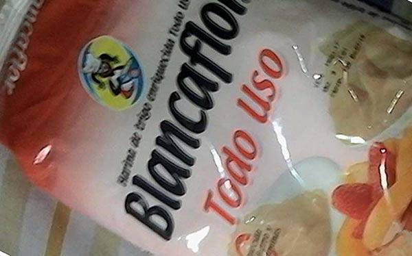Harina de trigo Blancaflor | Foto: Twitter