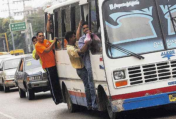 Ruta de autobús en Maracaibo   Foto: Panorama