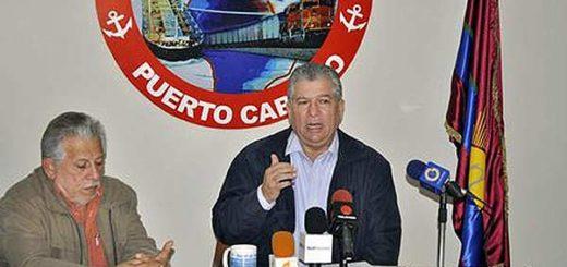 José Manuel Rodríguez, de la Cámara de Comercio de Puerto Cabello | Foto: Tibisay Romero