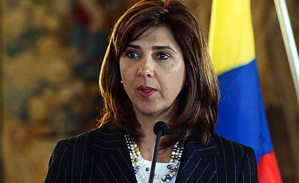 María Angela Holguín, Canciller de Colombia / Imagen de referencia