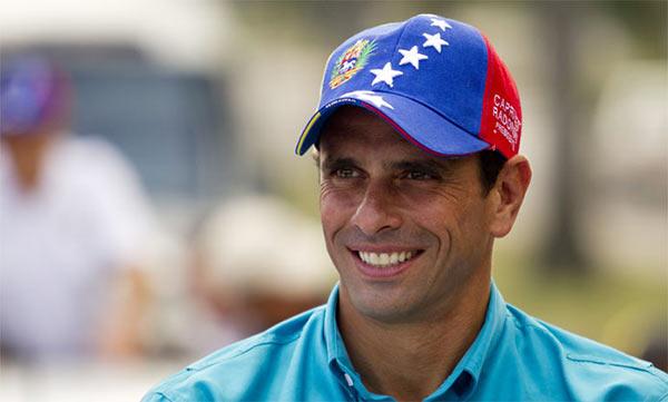 Gobernador Henrique Capriles Radonski| Foto: Archivo