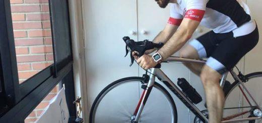 Daniel Ceballos pedalea en honor al Santo de la Grita |Foto: @PatrideCeballos