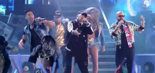 Chino y Nacho junto a Daddy Yankee|Captura de video