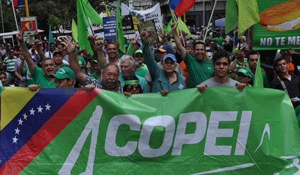 Copei invita a sus seguidores a marchar el 1-S| La Patilla
