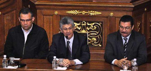Directiva de la Asamblea Nacional| Foto: Globovisión