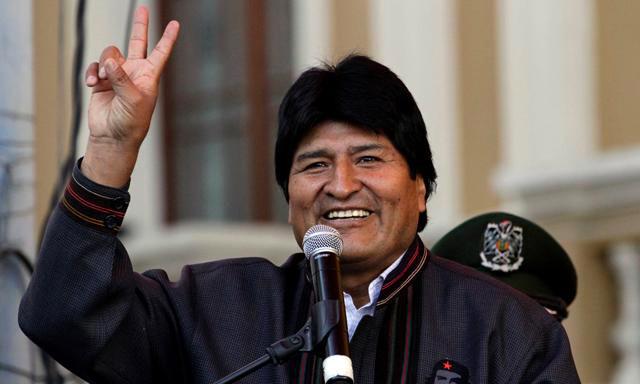 Evo Morales, presidente de Bolivia | Foto: Agencias