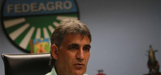 Antonio Pestana, presidente de Fedeagro  Foto referencia