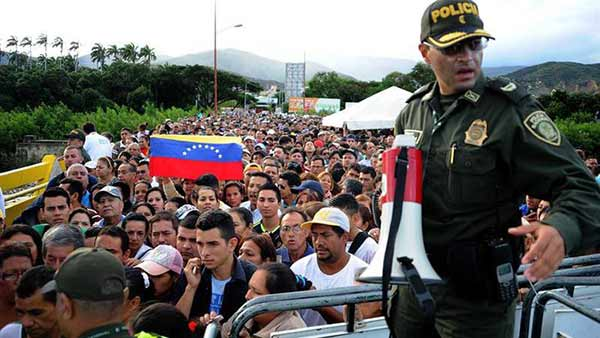 Frontera con Colombia   Foto: EFE