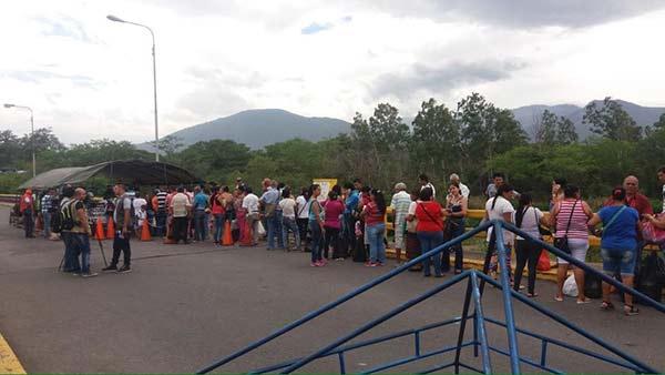 Colombia controlará el paso de los venezolanos a Cúcuta/Foto referencia