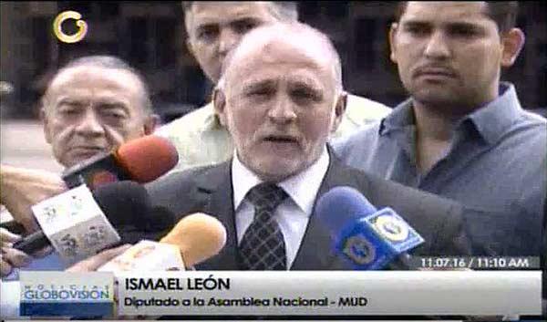 Diputado Ismael León   Foto: captura de video
