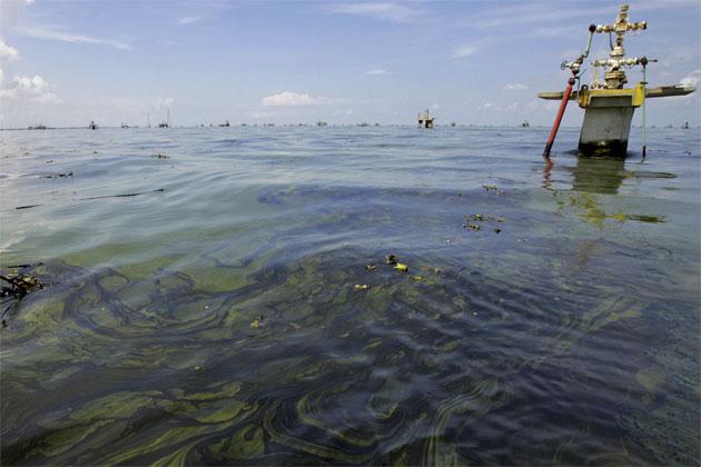 Fuga de crudo en Lago de Maracaibo   Imagen de referencia