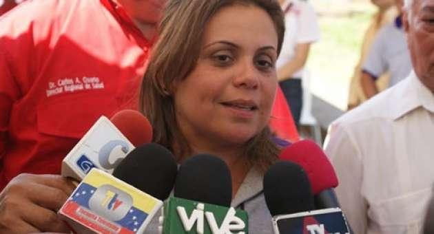 Lizeta Hernández, gobernadora de Delta Amacuro|Foto: Archivo