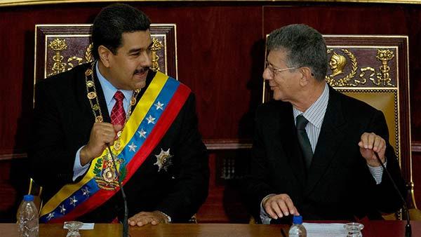 Nicolás Maduro y Henry Ramos Allup | Foto referencial