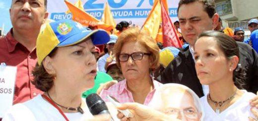 Mitzy de Ledezma | Foto: Unidad