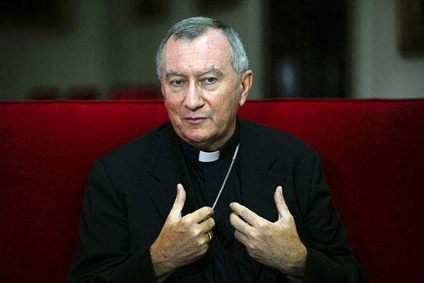 Cardenal Pietro Parolin |Foto: Reuters