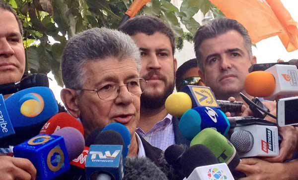 Henry Ramos Allup, Presidente de la Asamblea Nacional / Foto: Prensa VP