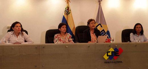 Rectoras del CNE | Foto: AVN