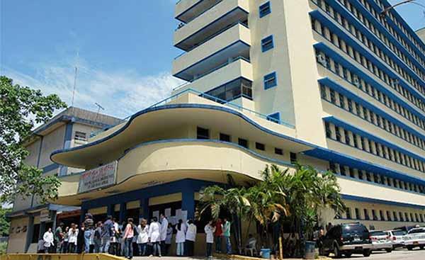 Hospital central de San Cristóbal, Táchira |Foto: Lanación.com