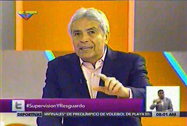 Ministro de de Producción Agrícola y Tierras, Wilmar Castro Soteldo | Captura de video