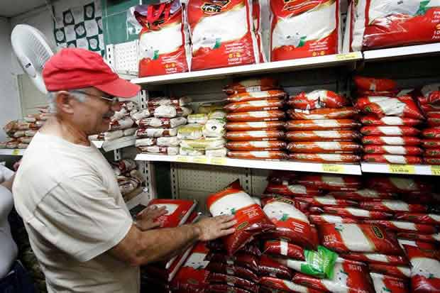 Supermercado en Cúcuta, Colombia   Foto: Vía Twitter