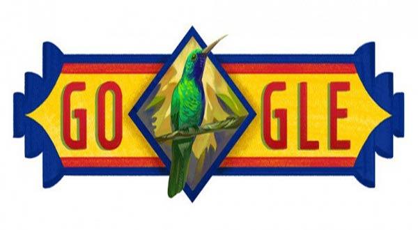 El doodle de Google por el Día de La Independencia